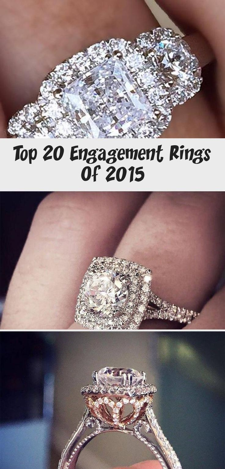 Top 20 Engagement Rings Of 2015 Wedding in 2020