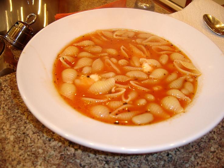 Pasta Fagioli - Pasta and Beans