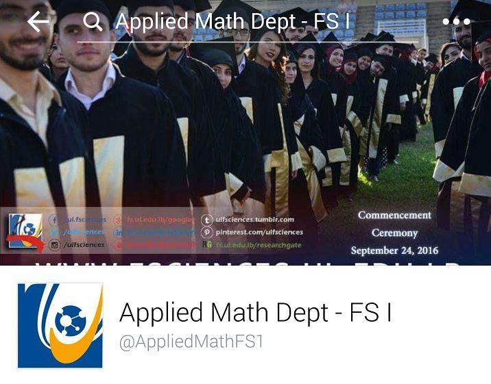 Lebanese University - FS1