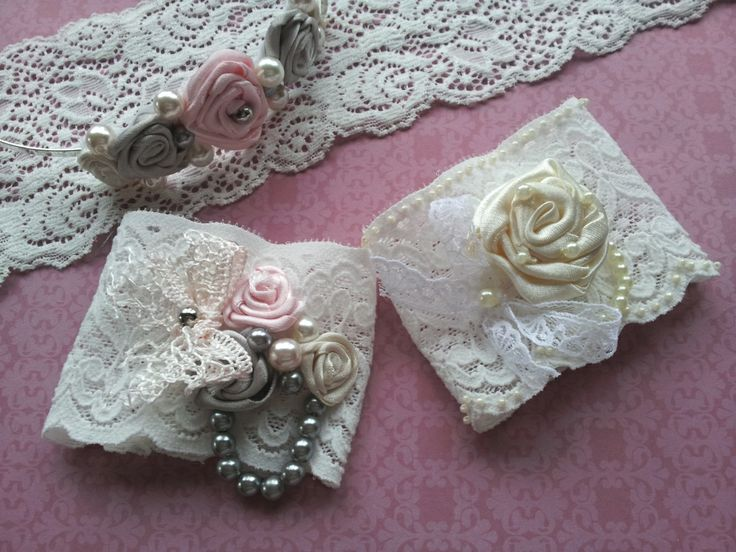 Romantic Rose accessories handmade by Beautiful Unique