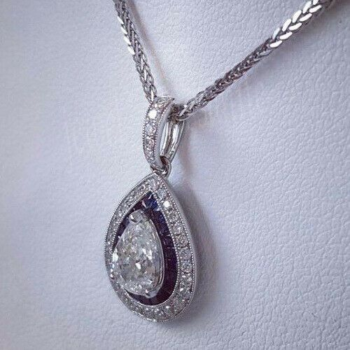 Star Shape 1.68 Ct Off White Forever Moissanite 925 Sterling Silver Pendant