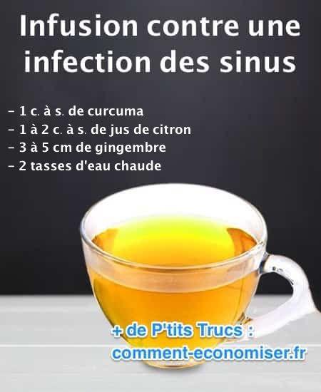 infusion pour dégager les sinus