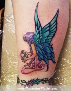 tatuaje de hada