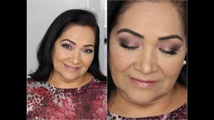 Como Hacer un Maquillaje para Pieles Maduras- HogarTv por Juan Gonzalo A...