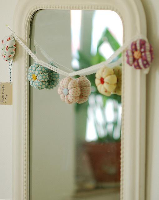Flower garland by jasna.janekovic, via Flickr