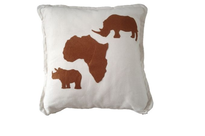Rhino Cushion by Cushion Corner on hellopretty.co.za