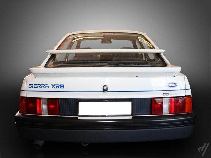 Ford Sierra XR8 bi-plane rear spoiler.