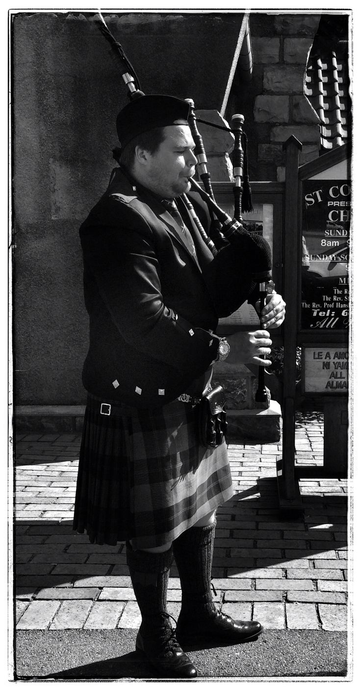 The pipes are calling....