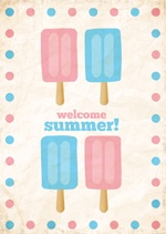 Welcome Summer! Free Printable.