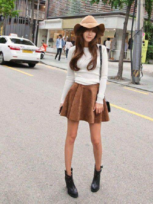 女の子らしさ満点♡キュートなフレアミニスカートのコーデ☆スタイル・ファッションの参考に♪