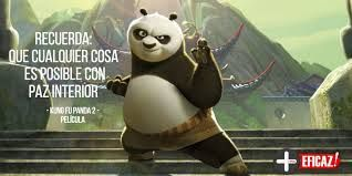 Resultado de imagen para frases sabias de kung fu panda