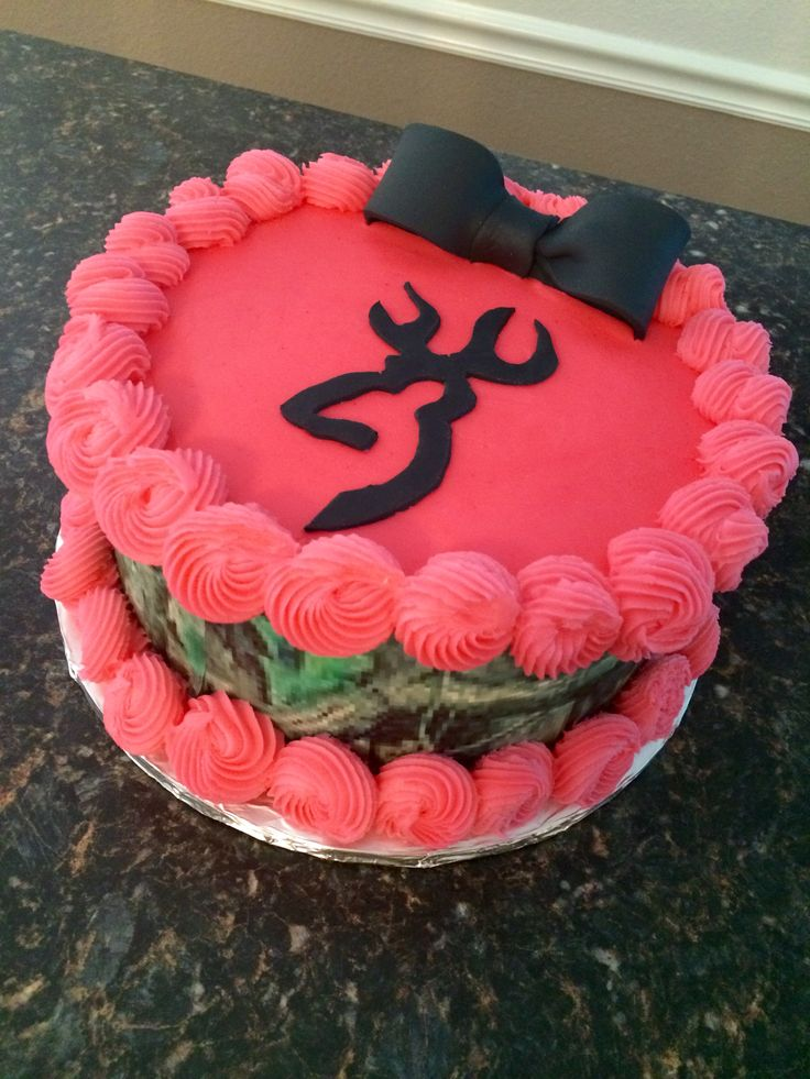 Pink Camo Cake By Honeybird Cake Design My Cake