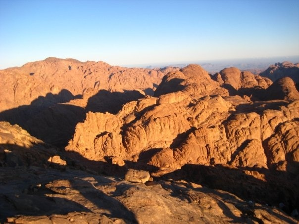 (top of) Mt. Sinai, Egypt