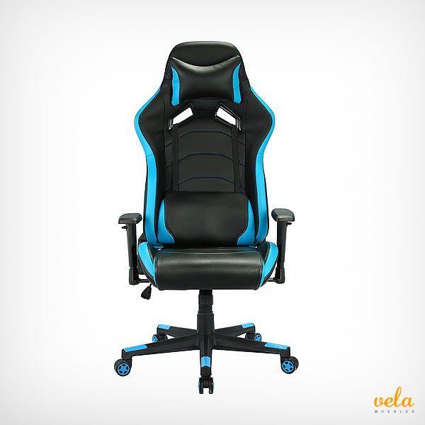 Bonito diseño de silla gamer racer. no te pierdas las ofertas online de esta cómoda silla.
