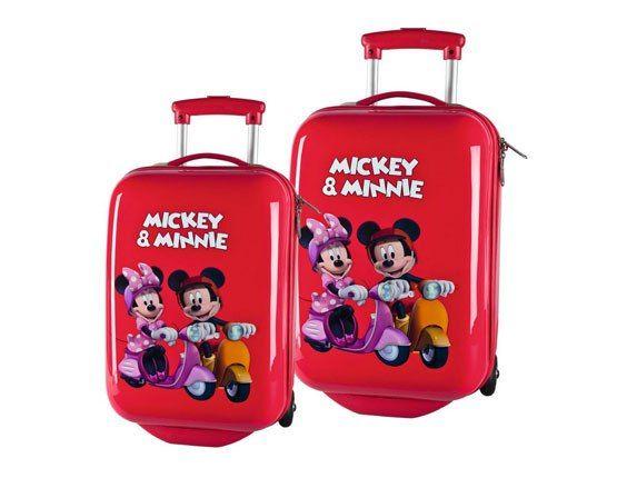 Maletas Disney Minnie y Mickey equipaje infantil