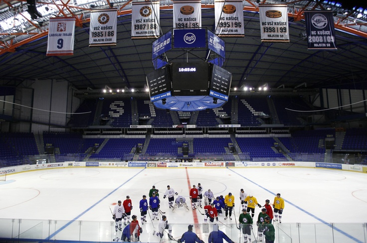 Steel Arena - hockey in Kosice