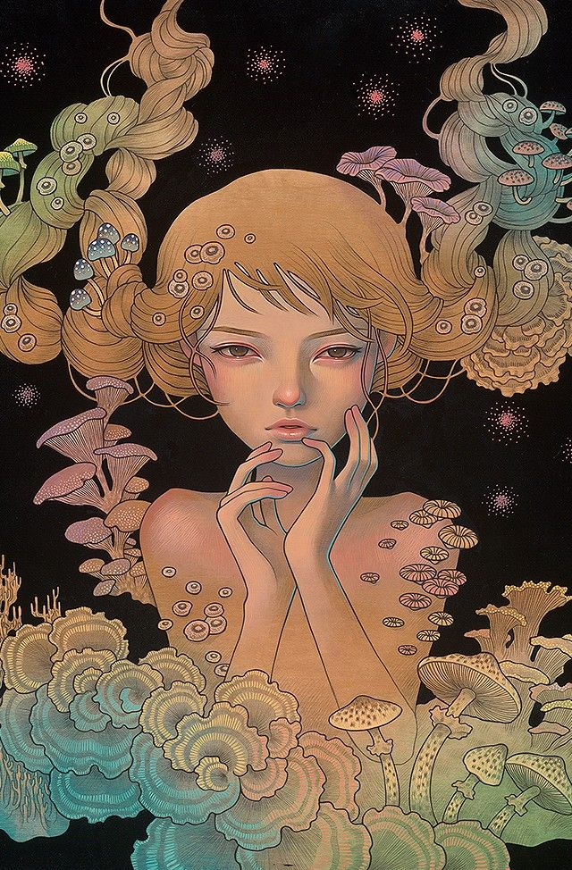 [Art] Audrey Kawasaki and female figures on Switzerland