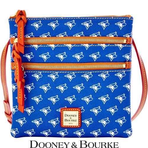 Toronto Blue Jays MLB Signature Triple Zip Crossbody by Dooney & Bourke - MLB.com Shop