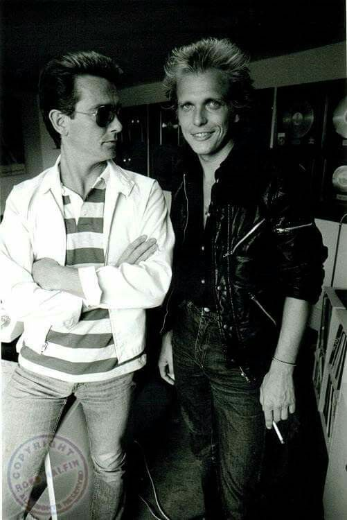 Graham Bonnet and Michael Schenker!