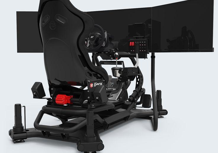 Rseat N1 M4a 3000 Black Motion Simulator Rseat Gaming