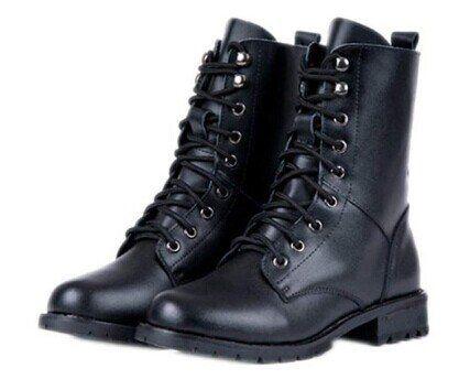 CRAVOG Neu Damen Schwarz Punk Boots Stiefeletten Schuhe Hälfte Stiefel Weise - http://on-line-kaufen.de/cravog/cravog-neu-damen-schwarz-punk-boots-stiefeletten