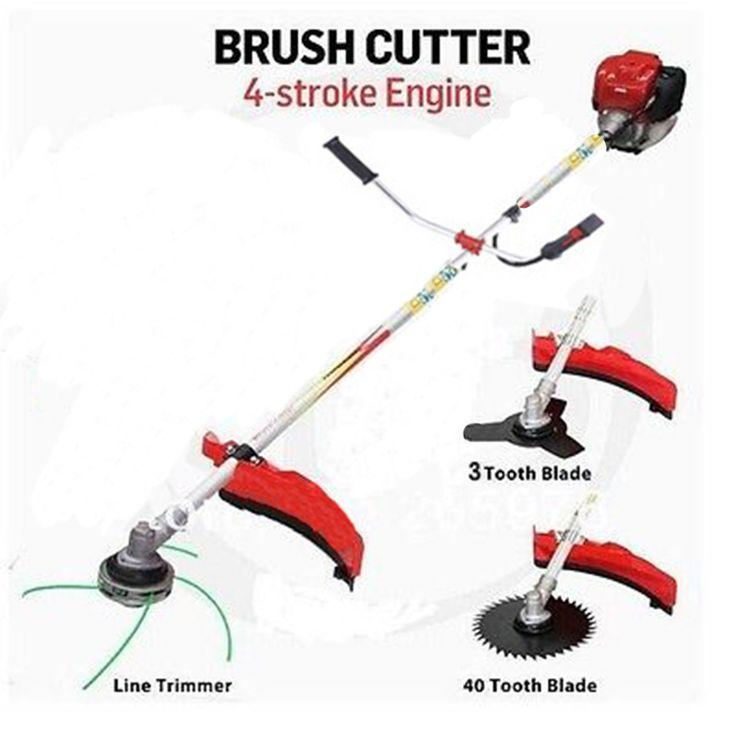 Professional garden tool GX35 Engine Grass Trimmer 35.8cc Brush Cutter 4 STROKES gasoline cutter