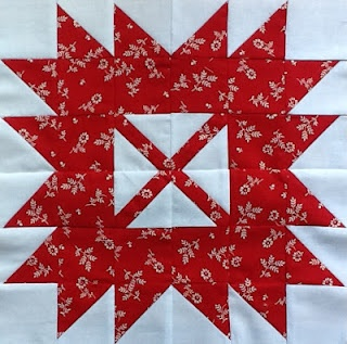 The Cuddle Quilter: Canada Day Quilt Block