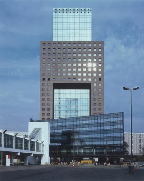 Messe Torhaus | 1985 | Frankfurt  Germany | O.M. Ungers