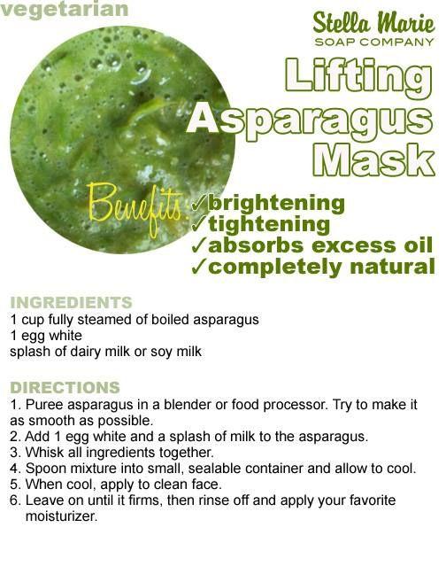 Lifting Asparagus Mask