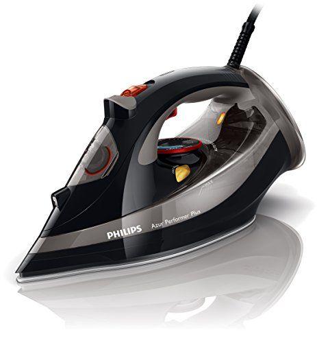 Philips GC4521/87 Fer Vapeur Azur Performer Plus noir avec guide cordon offert Puissance 2600 W Semelle T-ionicGlide: Puissance : 2600 W…
