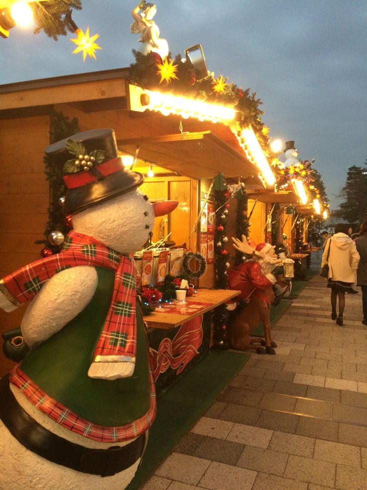 Christmas market at #Tokyo #Skytree town.