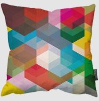 geometric cushion: Colour, Geometric Prints, Pattern, Cuben Pillows, Art Prints, Geometric Cushions, Throw Pillows, Colors Pillows, Geometric Pillows