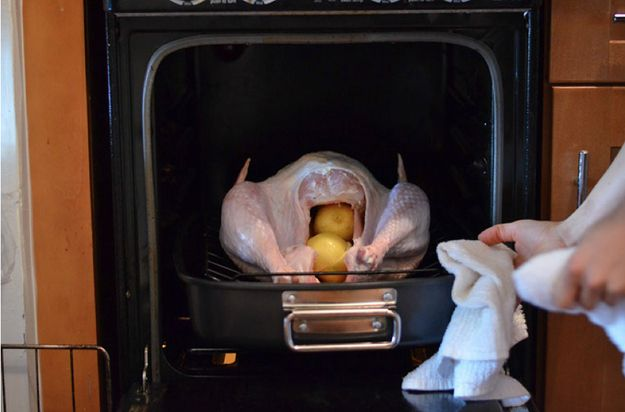 You roast the turkey at one temperature, instead of starting it in a really hot oven and then lowering the heat. | 17 Thanksgiving Turkey Mistakes Everyone Makes