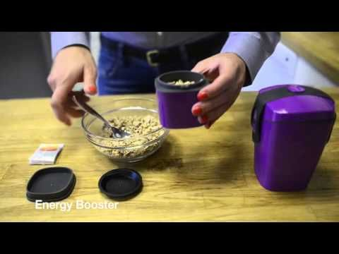 Compleat lunch box range - clever, quirky, quality Scandinavian design - YouTube
