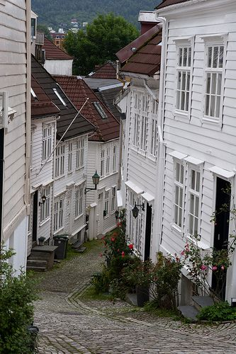 Bergen, Norge - I remember walking down this street!