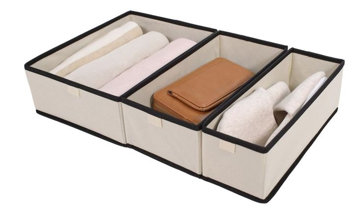 Tidy Living - Foldable Organizer 3 Pieces  #TidyLiving