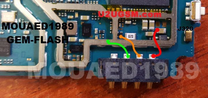 Samsung J3 J320h Battery Connector Terminal Jumper Ways Com