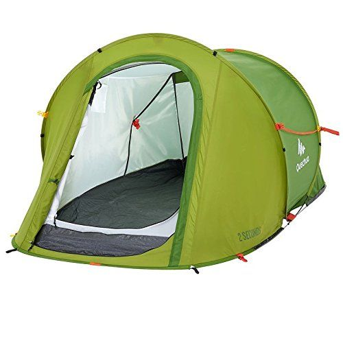 Quechua 2 Seconds Easy I, 1 Man Waterproof Pop Up Camping Tent >>> You can find out more details at the link of the image.