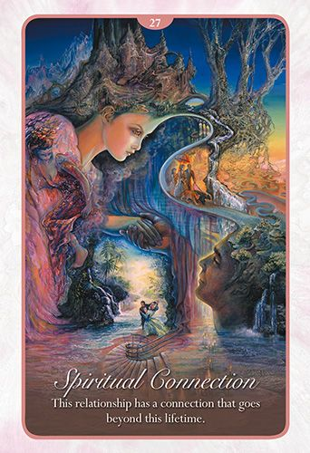 "Our card for today, Friday, April 15th, is taken from the Whispers of Love Oracle Cards – Spiritual Connection – ""This relationship has a connection that goes beyond this lifetime."" When we meet so…"
