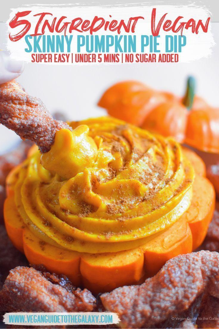 5 Ingredient Skinny Pumpkin Pie Dip