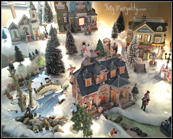 17 best christmas village images on Pinterest Christmas villages - christmas town decorations