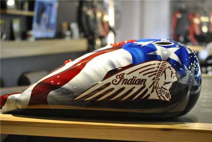 Patriotic   INDIAN Motorcycle Custom & Stock Paint   Pinterest   Custom tanks, Custom bikes and ...