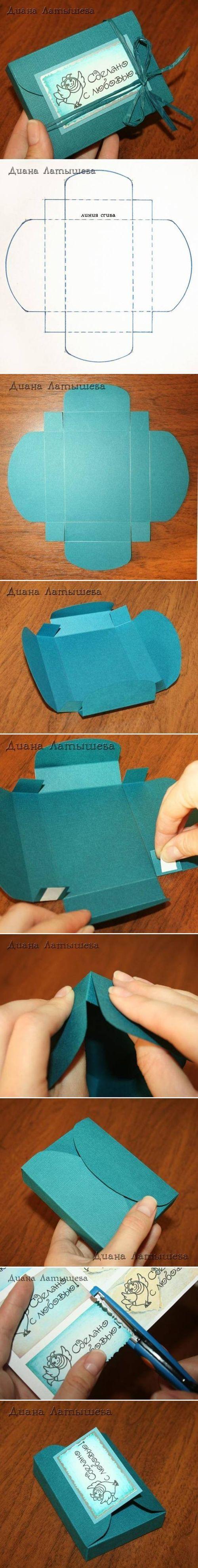 DIY Caja de lujo del regalo DIY Proyectos / UsefulDIY.com
