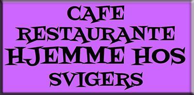 Cafe hjemme hos svigers
