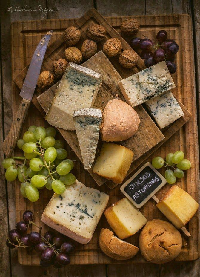 La Cucharina Mágica: Mis 5 Mejores quesos asturianos.