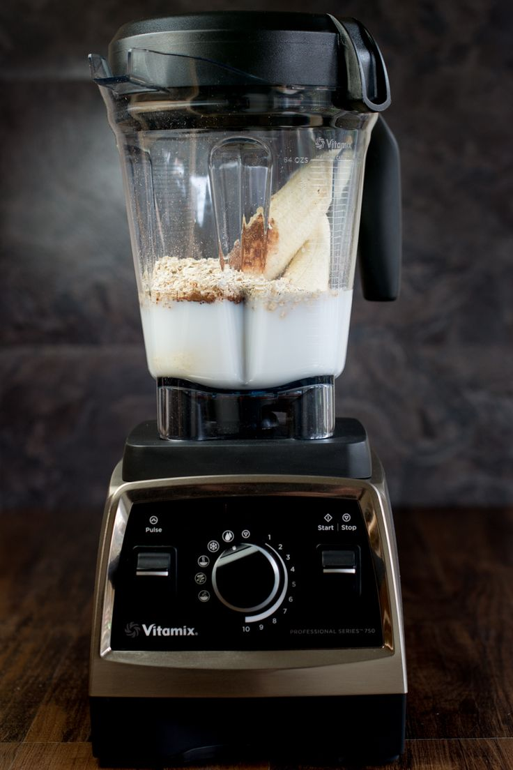Coconut, Banana and Chocolate Smoothie by CharlottesLivelyKitchen.com | Vitamix Recipe