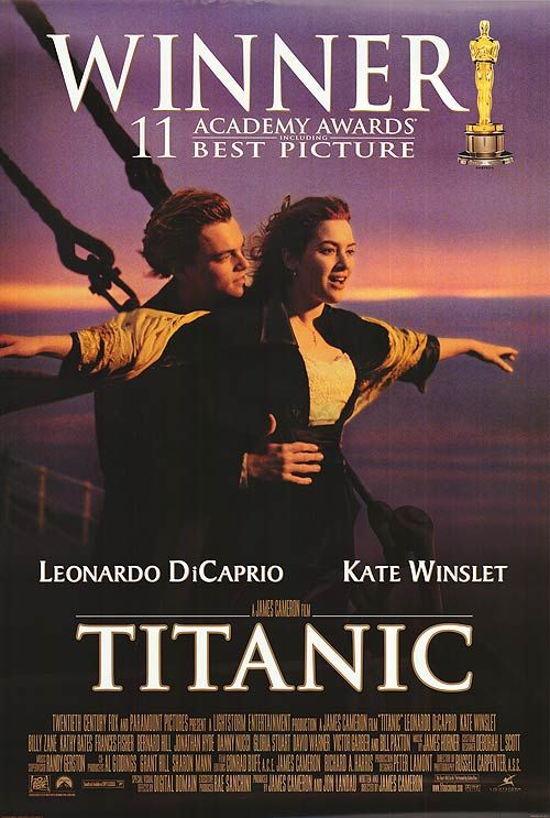 """TITANIC""--MY FAVORITE MOVIE OF ALL TIME!"