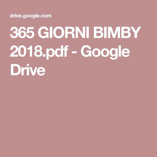 365 GIORNI BIMBY 2018.pdf - Google Drive