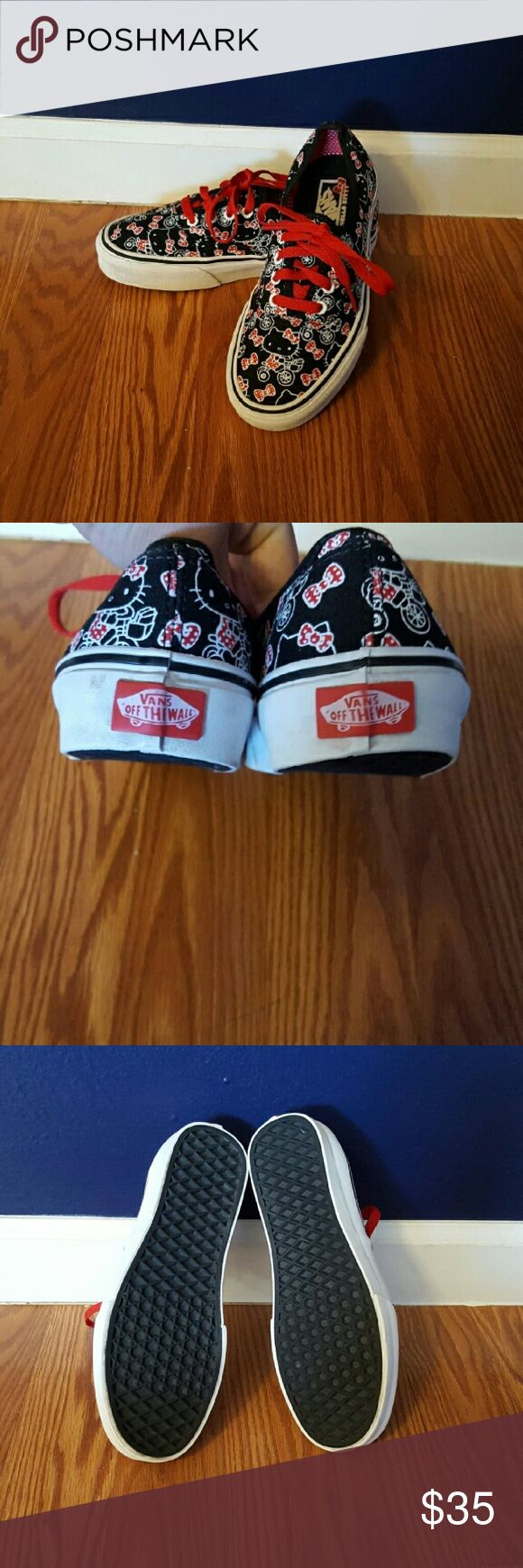 *Limited Edition* Hello Kitty vans Only worn 2 times. Open to offers! Vans Shoes Sneakers