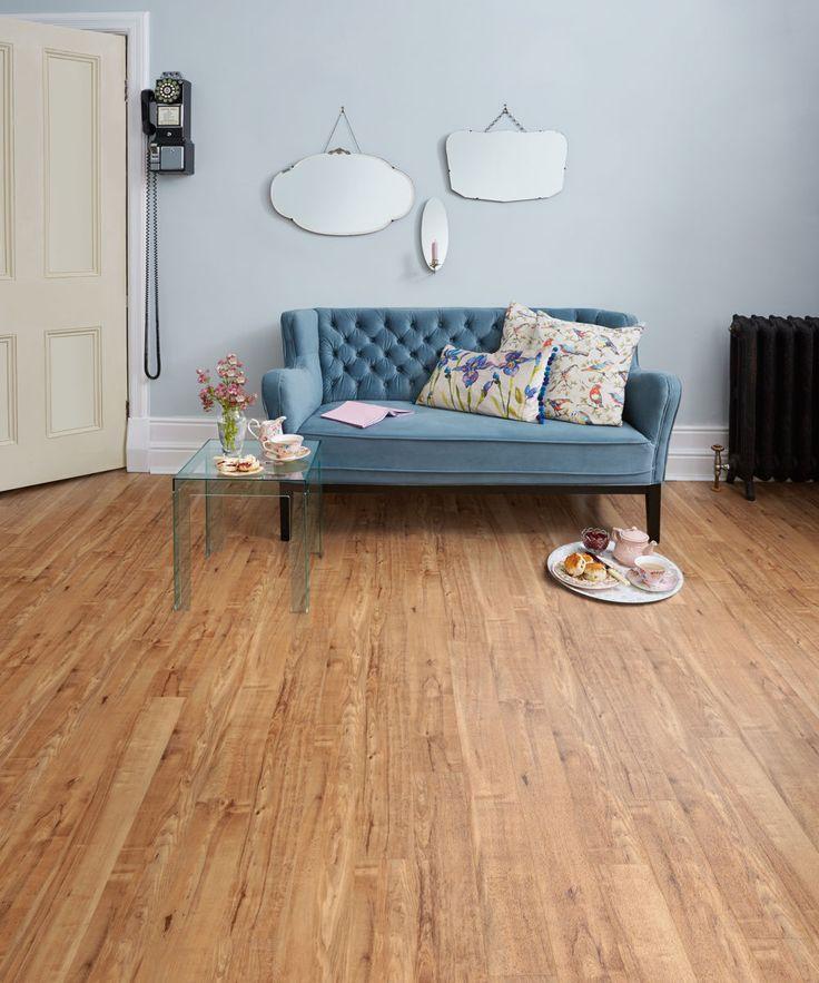 Nut Tree Camaro Luxury Vinyl Tile Flooring, Featured In Living Room